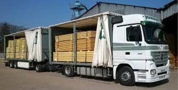 Salaire moyen transport de marchandises
