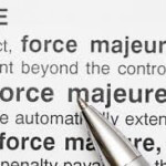Exemple clause force majeure