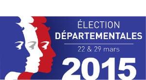 Les résultats du premier tour des élections départementales 2015