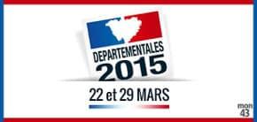 Résultats sondages élections départementales 2015 - journaux suisses et belges