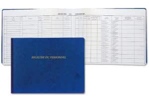 Documents obligatoires - Acheter un registre du personnel