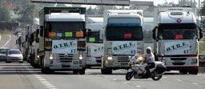 Salaire moyen et salaire minimum transports routiers 2015