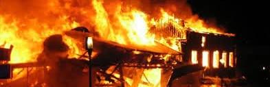 Modèle de courrier de déclaration d'un incendie