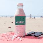 Vitaline à la plage