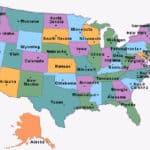 Abréviations postales des états américains (USA)