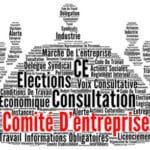 Modèle d'information par voie d'affichage des élections du comité d'entreprise