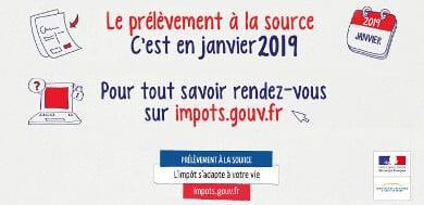Modalités du prélèvement à la source 2019 (PAS)