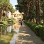 Le Jardin Dolat Abad à Yazd en Iran