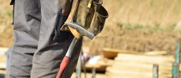Barème salaires, salaire moyen et salaire minimum ouvriers du bâtiment en 2020 des Hauts-de-France de moins de 10 salariés