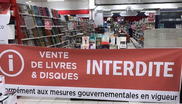 L'achat de livres est interdit par le gouvernement