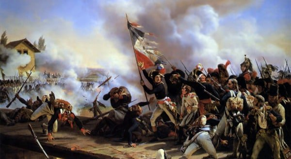 La bataille du pont d'Arcole