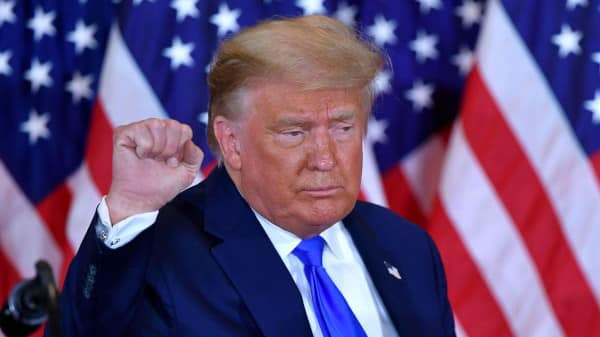 Donald Trump gagnant élection présidentielle 2020